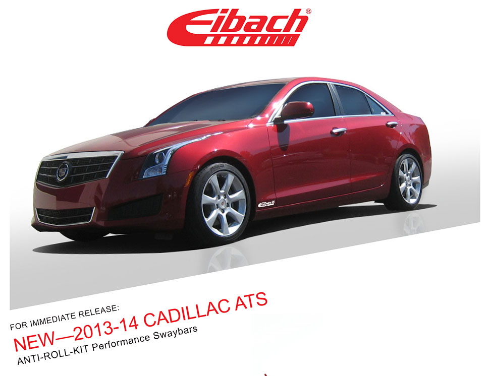 Product Releases 2013 14 Cadillac Ats Anti Roll Kit