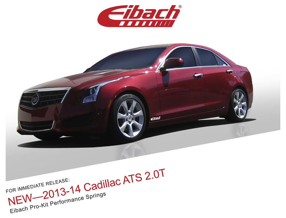 product releases 2013 14 cadillac ats 2 0t pro kit. Black Bedroom Furniture Sets. Home Design Ideas