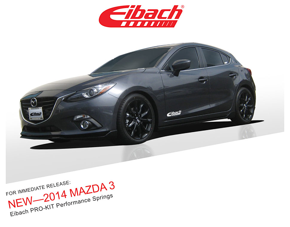 Product Releases 2014 Mazda 3 Pro Kit