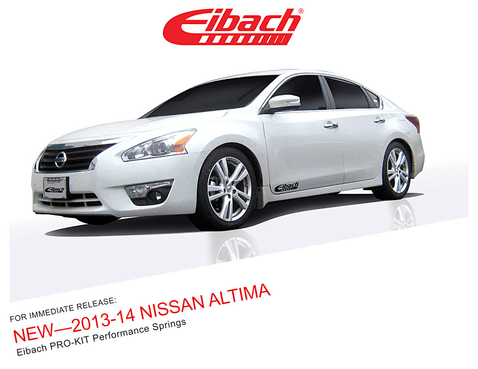 Product Releases 2013 14 Nissan Altima Pro Kit