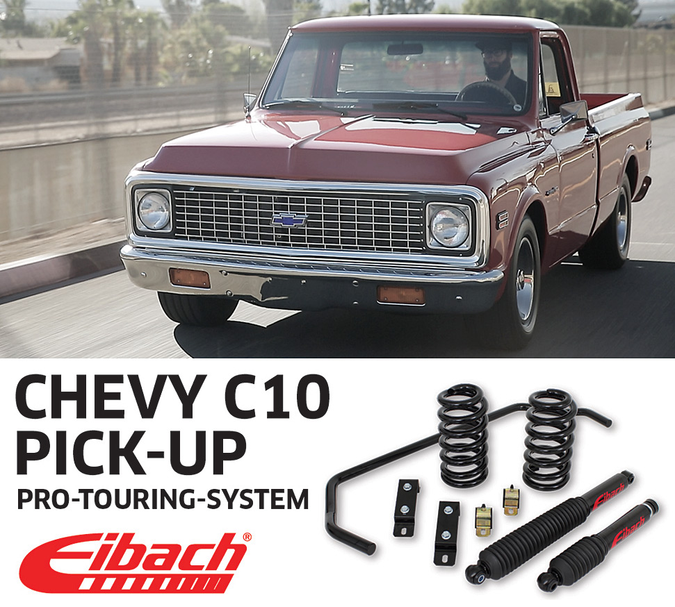 Product Releases Chevy C10 Pick Up Pro Touring System