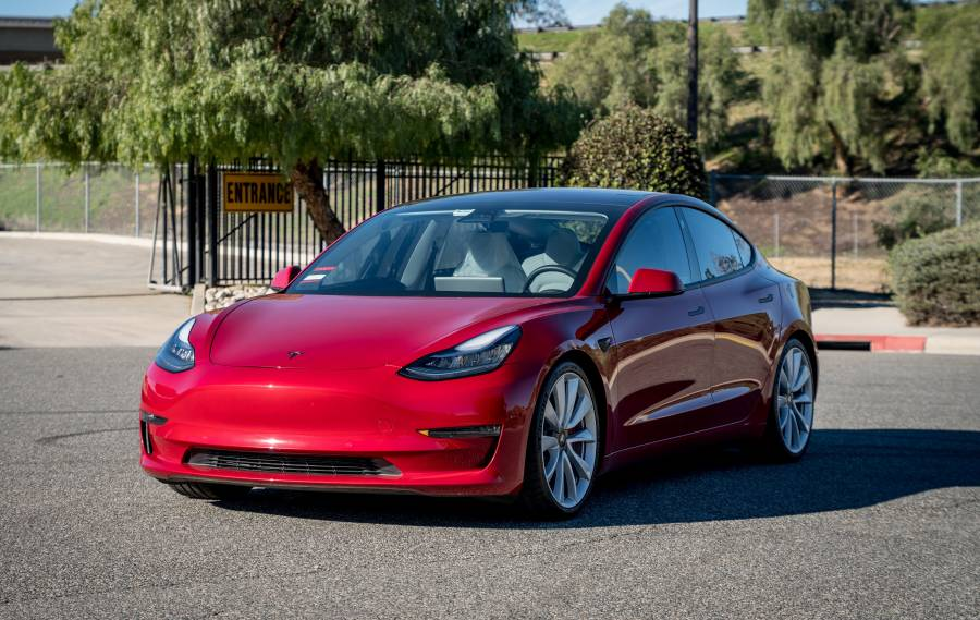 Product Releases - 2019 TESLA MODEL 3 PERFORMANCE PACKAGE