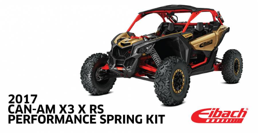 Product Releases  - 2017 CAN-AM X3 RS - PRO-UTV