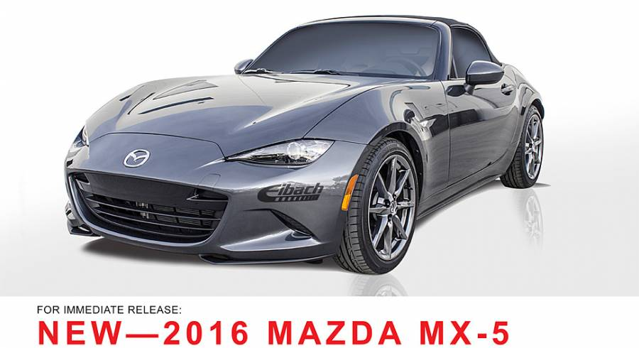 Product Releases - 2016 MAZDA MX-5 - PRO-KIT - ANTI-ROLL-KIT - PRO-SPACER