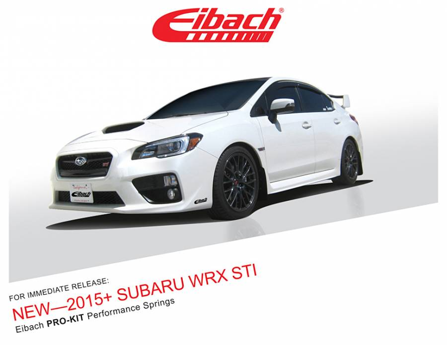 product releases pro kit 2015 subaru wrx sti. Black Bedroom Furniture Sets. Home Design Ideas