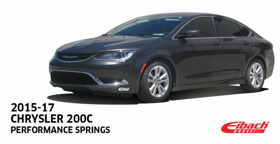 Product Releases - 2015-17 CHRYSLER 200C Performance Springs