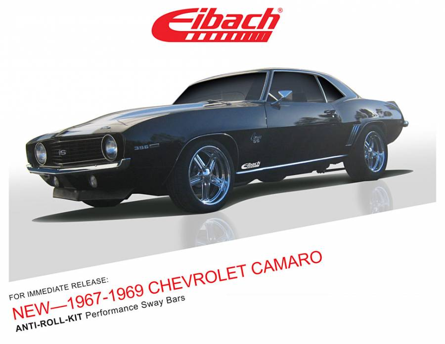 Product Releases - 1967-1969 CHEVROLET CAMARO - ANTI-ROLL-KIT