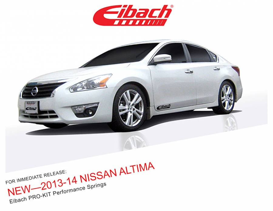 Product Releases - 2013-14 NISSAN ALTIMA - PRO-KIT
