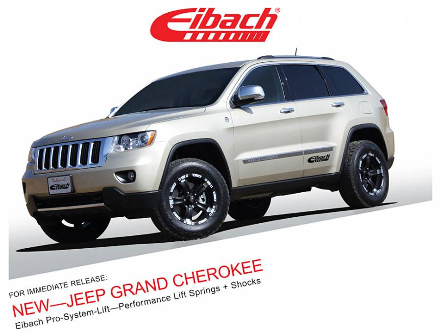 Product Releases - JEEP GRAND CHEROKEE - PRO-SYSTEM-LIFT