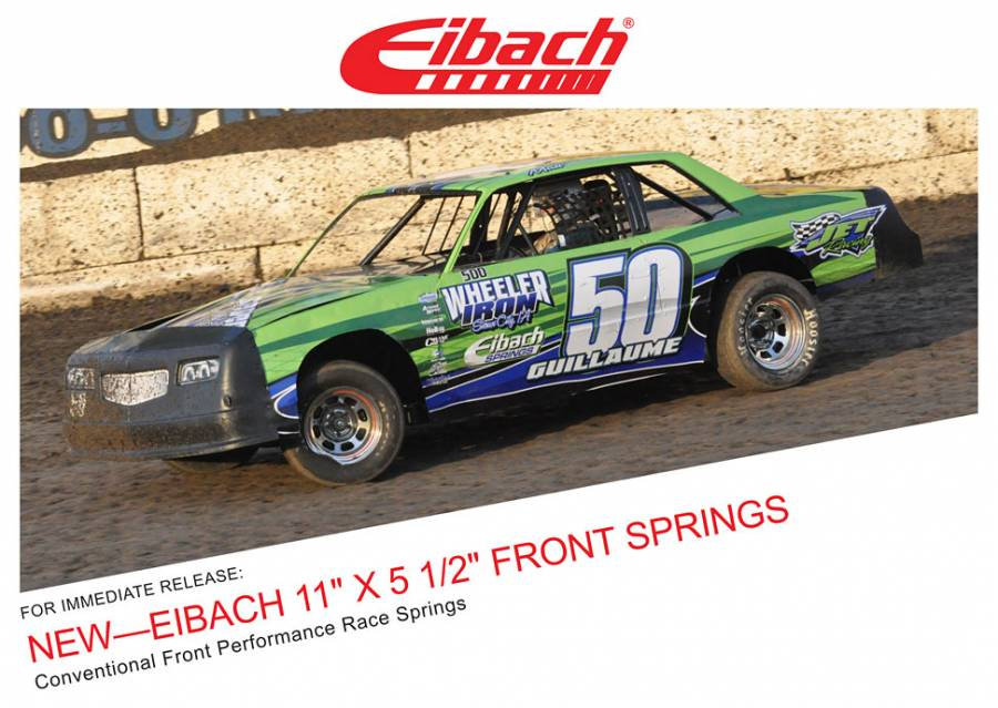 "Product Releases - EIBACH 11"" X 5 1/2"" FRONT SPRINGS"