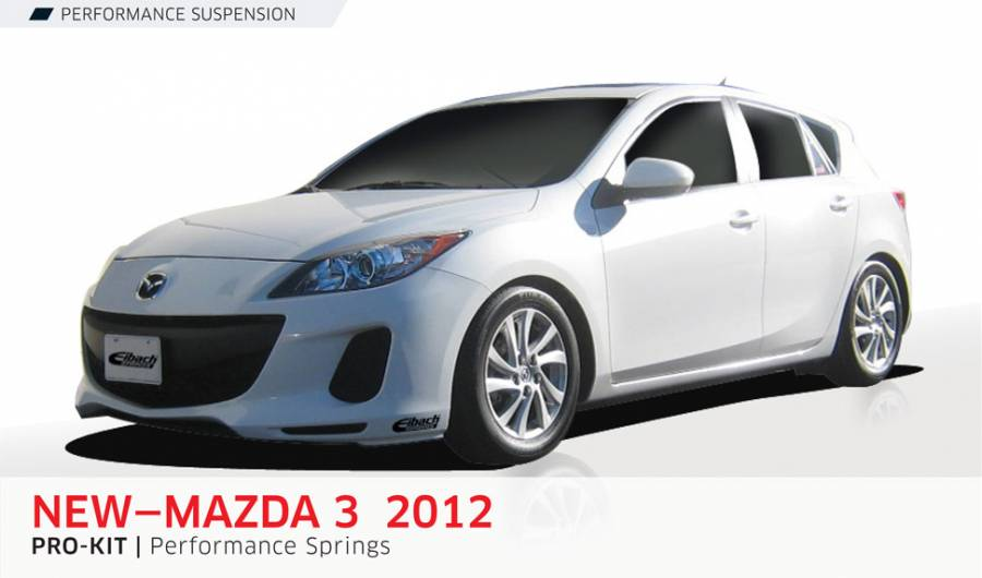 Product Releases - MAZDA 3 2012 - PRO-KIT