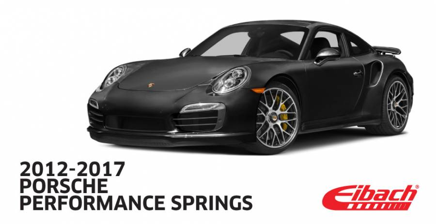 Product Releases  - 2012-2017 PORSCHE | Performance Springs