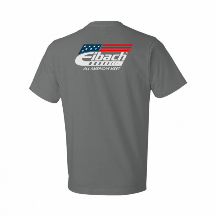 T-SHIRT Eibach All American Meet - Charcoal, Extra Large