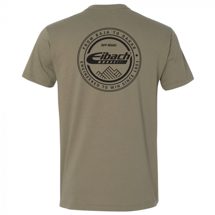 T-SHIRT Eibach Offroad - Olive - Image 2