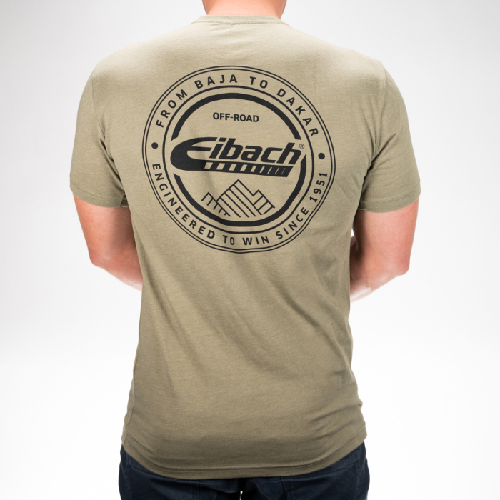 T-SHIRT Eibach Offroad - Olive - Image 3