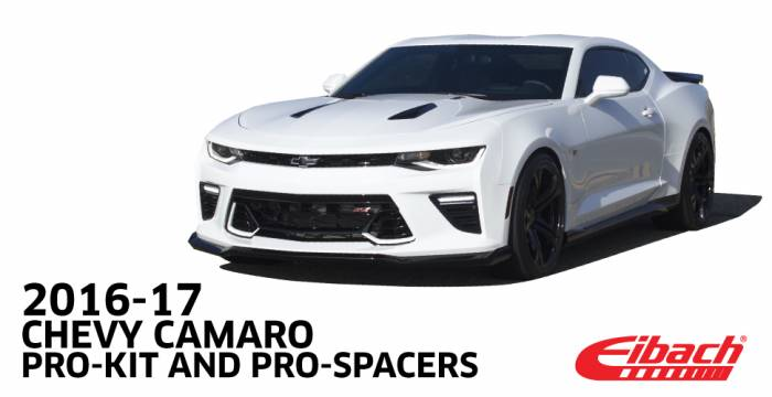 Product Releases  - EIBACH 2016-17 CHEVY CAMARO PRO-KIT - PRO-SPACERS
