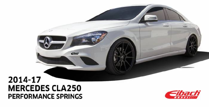 Product Releases  - 2014-17 MERCEDES CLA250 | Performance Springs