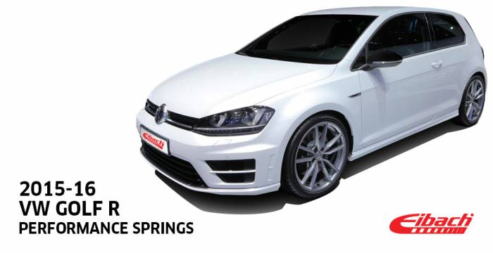Product Releases  - EIBACH 2015-16 VW Golf R
