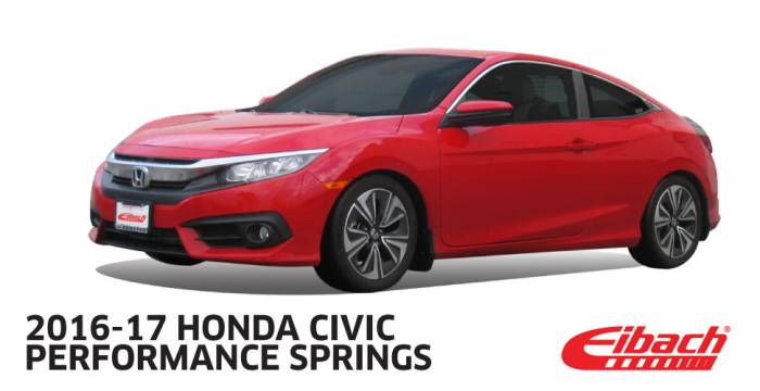 Product Releases  - 2016-17 HONDA CIVIC || Performance Springs