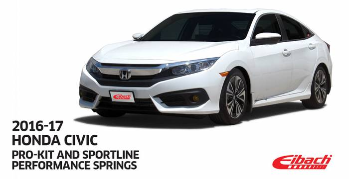 Product Releases - 2017 HONDA CIVIC - PRO-KIT - SPORTLINE