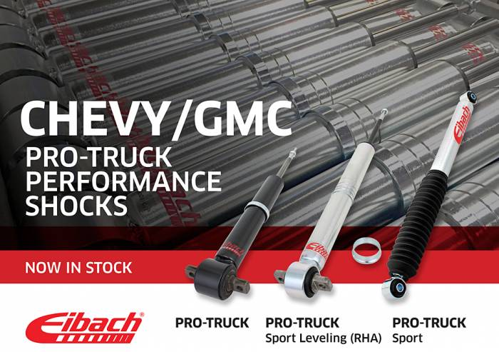 Product Releases - PRO-TRUCK Sport shocks 2015 Chevy
