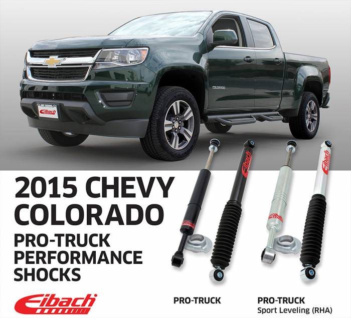 Product Releases - PRO-TRUCK Sport shocks 2015 Chevy Colorado