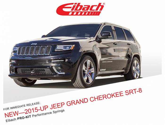 Product Releases  - PRO-KIT - 2015-UP JEEP GRAND CHEROKEE SRT-8