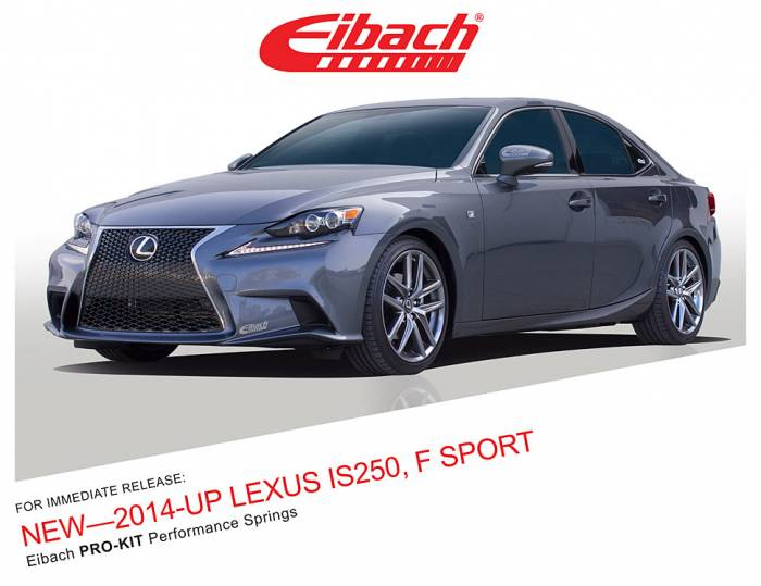 Product Releases - PRO-KIT - 2014-UP LEXUS IS250