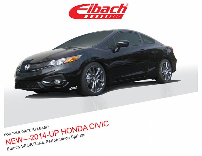 Product Releases - SPORTLINE - 2014-UP HONDA CIVIC