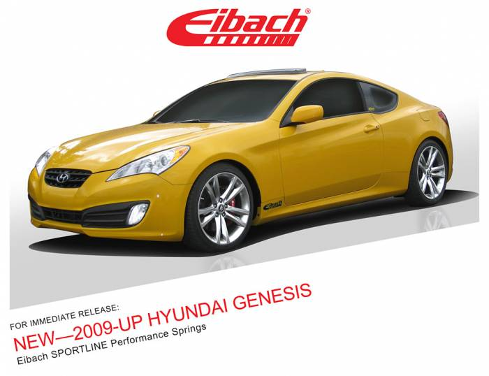 Product Releases  - SPORTLINE - 2009-UP HYUNDAI GENESIS