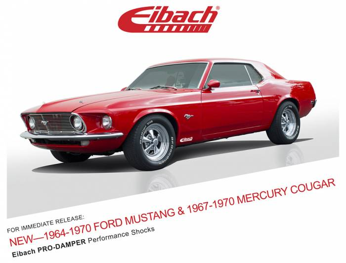 Product Releases  - PRO-DAMPER - 1964-1970 FORD MUSTANG & 1967-1970 MERCURY COUGAR