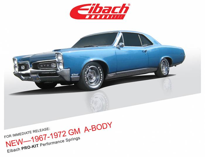 Product Releases - PRO-KIT Performance Springs - 1967-1972 GM A-BODY