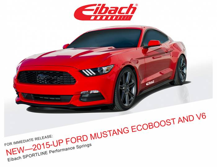 Product Releases  - SPORTLINE - NEW 2015-UP FORD MUSTANG ECOBOOST AND V6