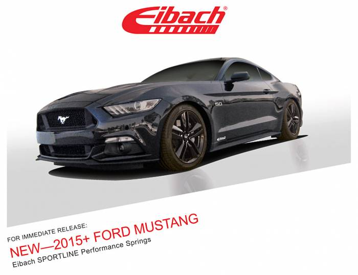 Product Releases  - 2015+ FORD MUSTANG - SPORTLINE