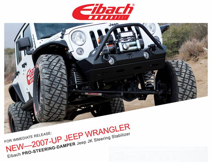 Product Releases  - PRO-STEERING-DAMPER - 2007-UP JEEP WRANGLER