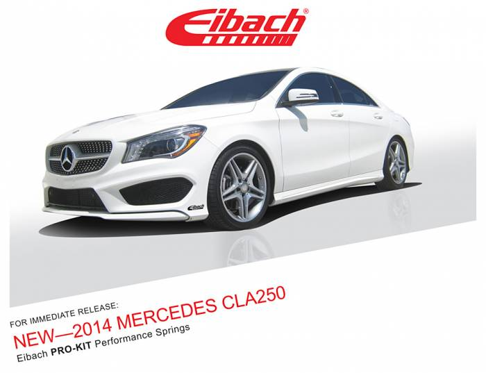 Product Releases  - PRO-KIT - 2014 MERCEDES CLA250