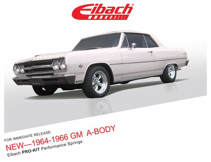 Product Releases  - PRO-KIT - 1964-1966 CHEVROLET MALIBU