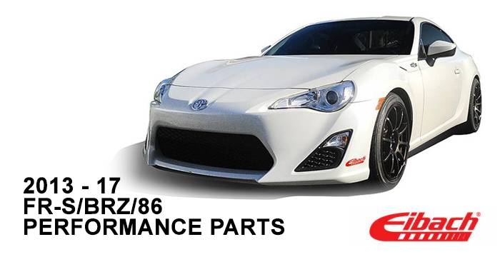 Product Releases  - 2013-17 FR-S/BRZ/86 Performance Parts