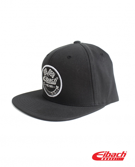 Apparel - Headwear - HAT Eibach Vintage Snapback - Black