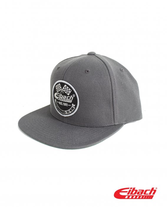 Apparel - Headwear - HAT Eibach Vintage Snapback - Dark Grey