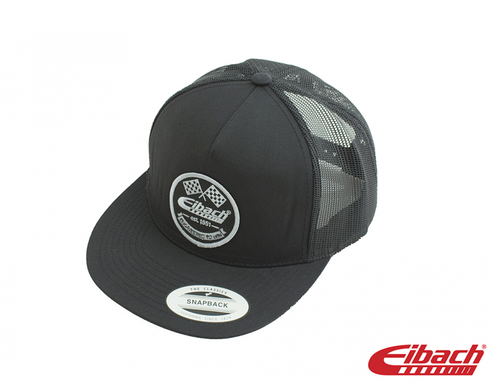 Apparel - HAT Eibach Vintage Trucker - Black