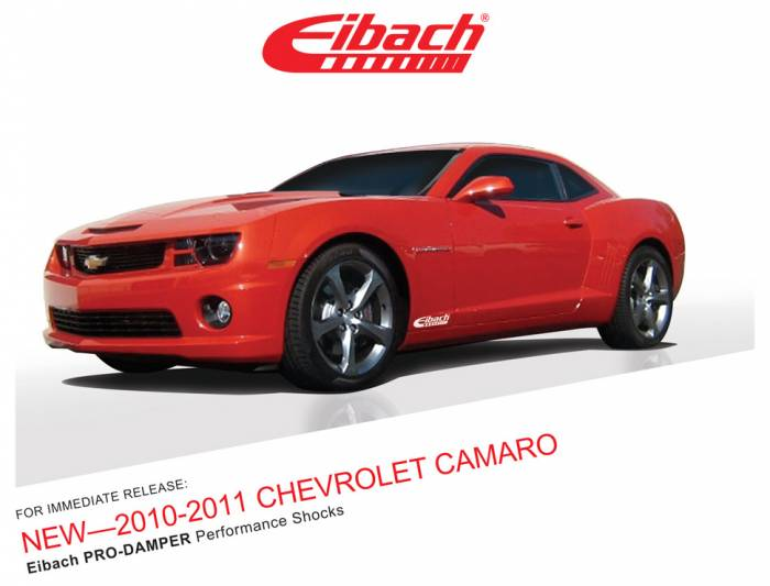 Product Releases  - PRO-DAMPER 2010-2011 CHEVROLET CAMARO