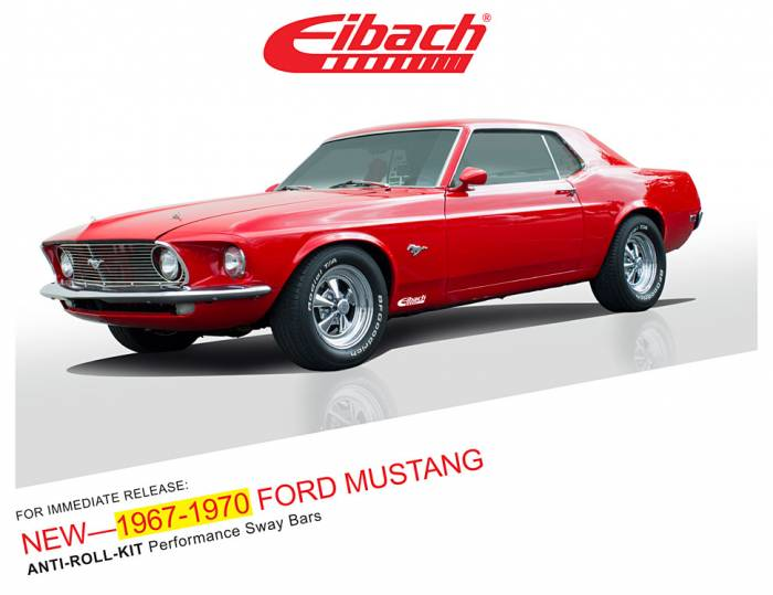 Product Releases  - 1967-1970 FORD MUSTANG - ANTI-ROLL-KIT