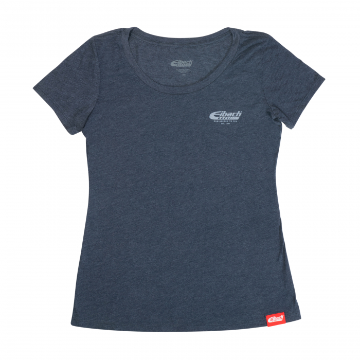 Apparel & Accessories - T-SHIRT WOMENS Eibach Engineered To Win - Navy