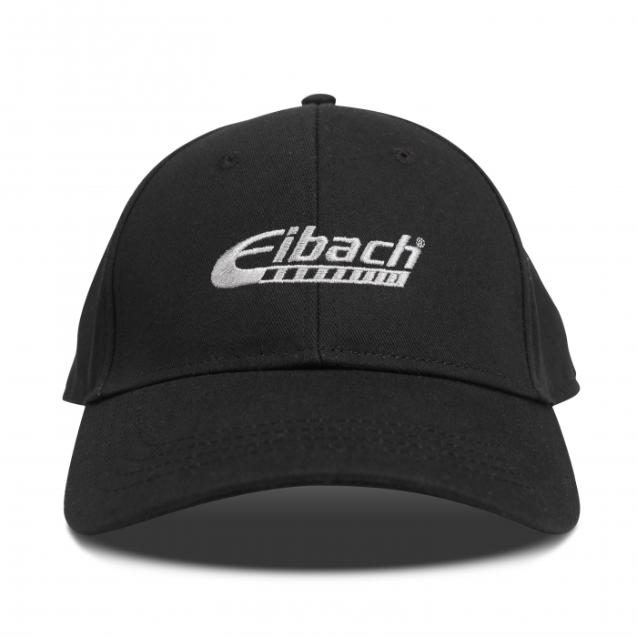 Apparel & Accessories - HAT Eibach Curved Snapback - Black