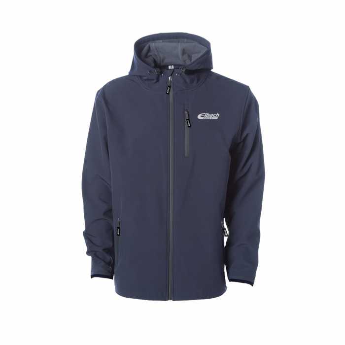 Apparel & Accessories - Hoodies / Jackets - Jacket Eibach Mens Softshell - Navy