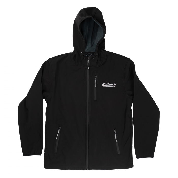 Apparel & Accessories - Hoodies / Jackets - Jacket Eibach Mens Softshell - Black