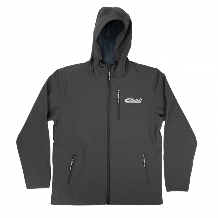Apparel & Accessories - Hoodies / Jackets - Jacket Eibach Mens Softshell - Grey