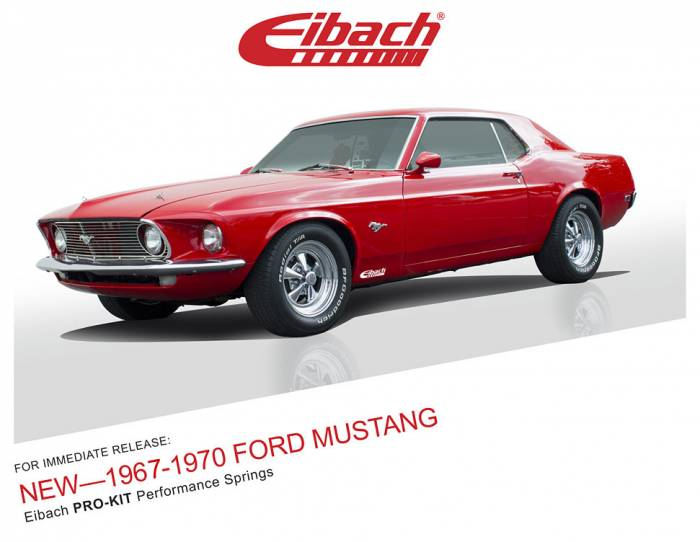 Product Releases - 1967-1970 FORD MUSTANG - PRO-KIT