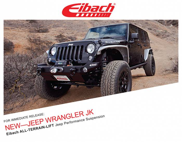 Product Releases - ALL-TERRAIN-LIFT JEEP WRANGLER JK